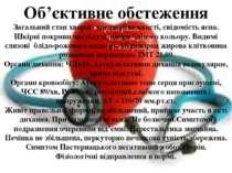 Об'єктивне обстеження Загальний стан хворої середньої важкості, свідомість яс...