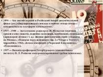 1896 — був знятий перший в Російський імперії документальний фільм (рос.)«Вид...