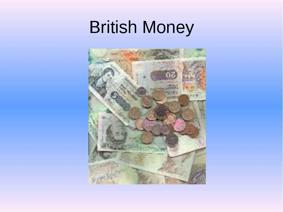British Money