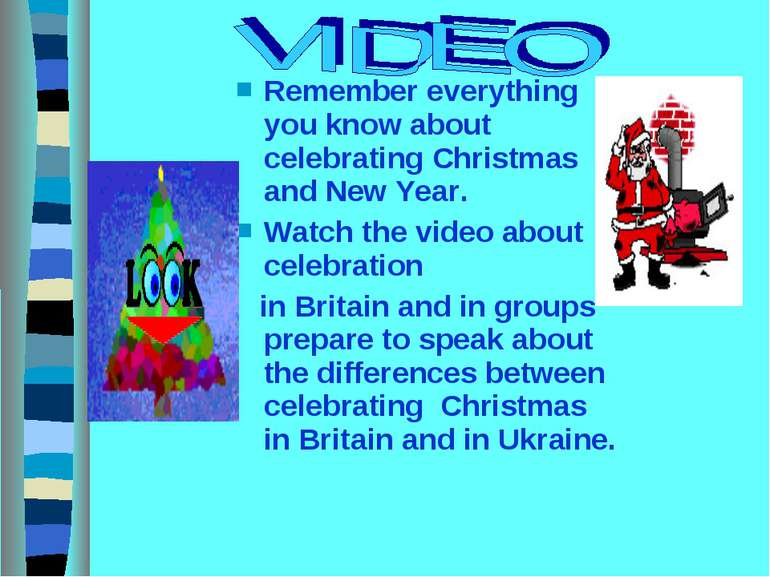 Remember everything you know about celebrating Christmas and New Year. Watch ...