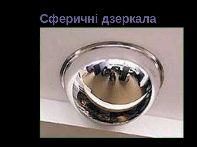 Сферичні дзеркала