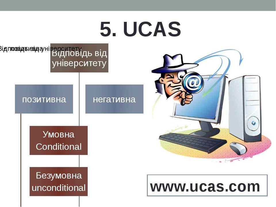 5. UCAS www.ucas.com