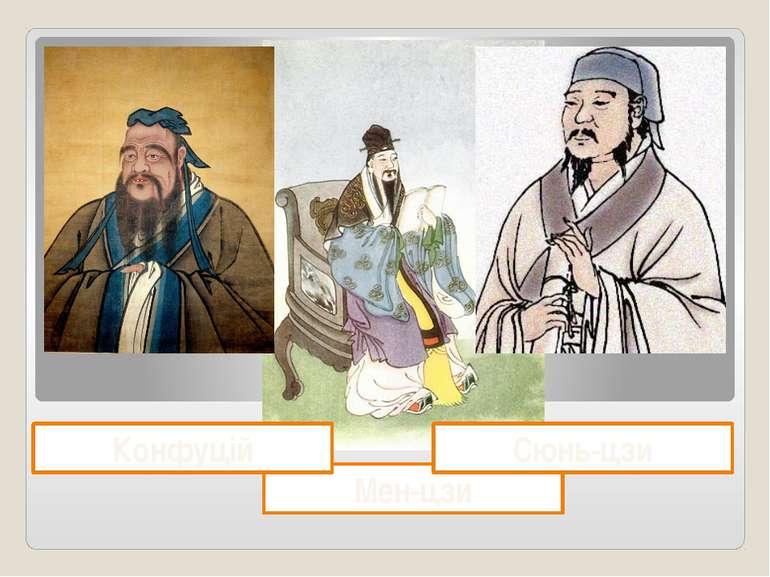 Мен-цзи Сюнь-цзи Конфуцій