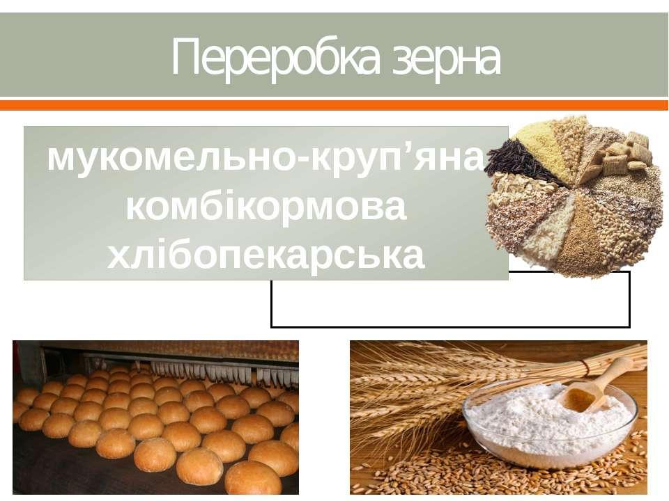 Переробка зерна