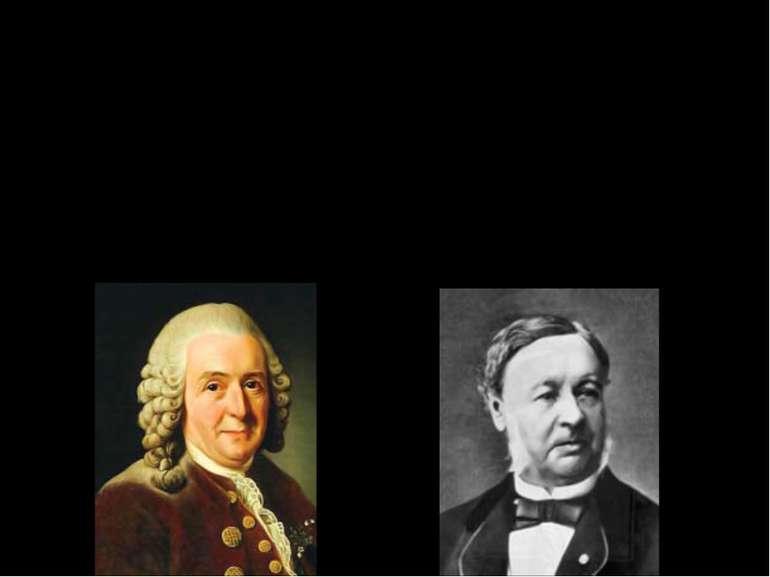 Розвиток біології в 18-19 ст Карл Лінней ( Швеція, 1707-1778), фундатор систе...
