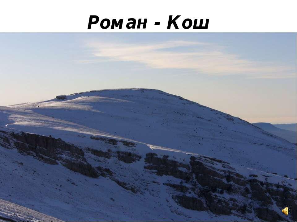 Роман - Кош