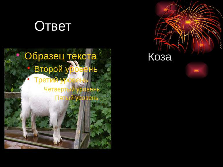 Ответ Коза