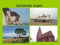 berühmte Inseln Rügen Usedom