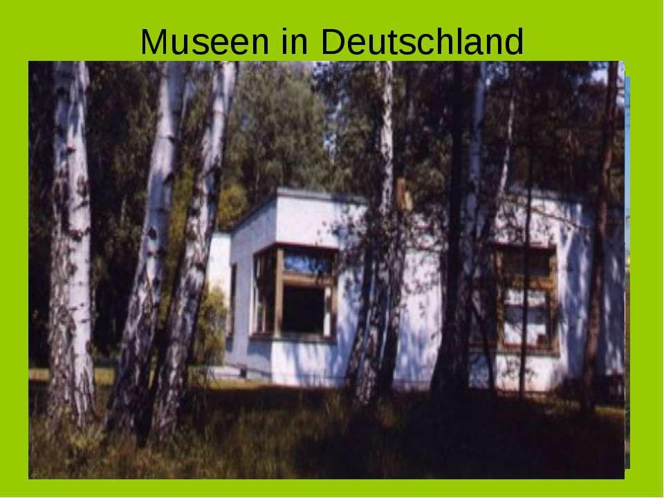 Museen in Deutschland