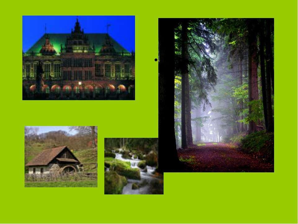 Deutschland ist ein Land der Sehenswürdigkeiten und Regionen. Jede ist eine R...