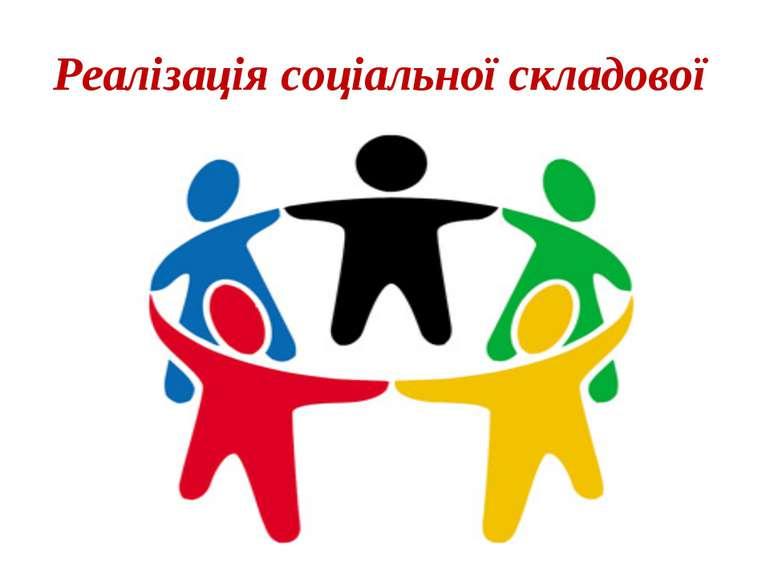 Реалізація соціальної складової
