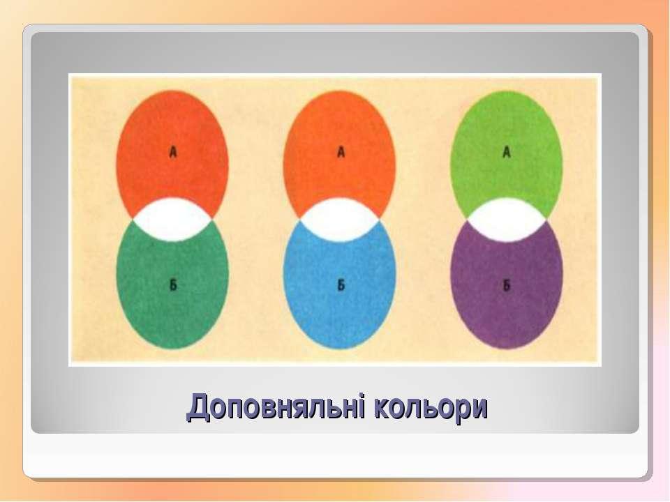 Доповняльні кольори