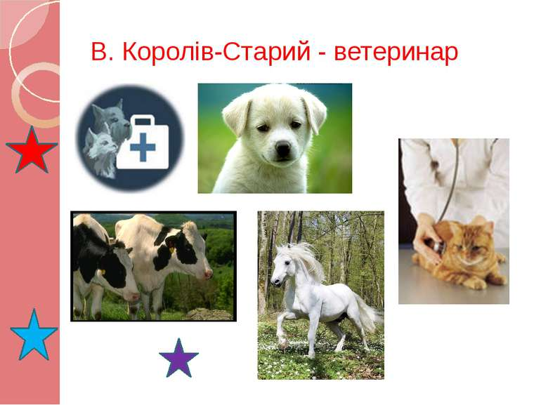 В. Королів-Старий - ветеринар