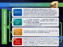 Використання ЄІП в ОПТУ Управління і контроль Планування роботи ОПТУ Система ...