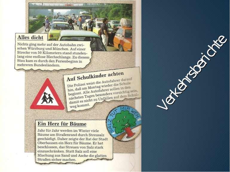Verkehrsberichte
