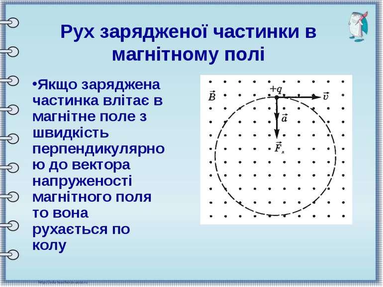 Якщо заряджена частинка влітає в магнітне поле з швидкість перпендикулярною д...