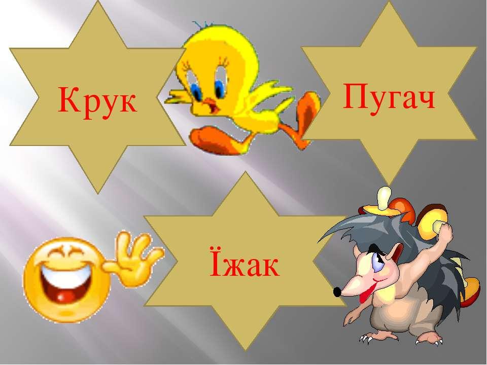 Крук Пугач Їжак