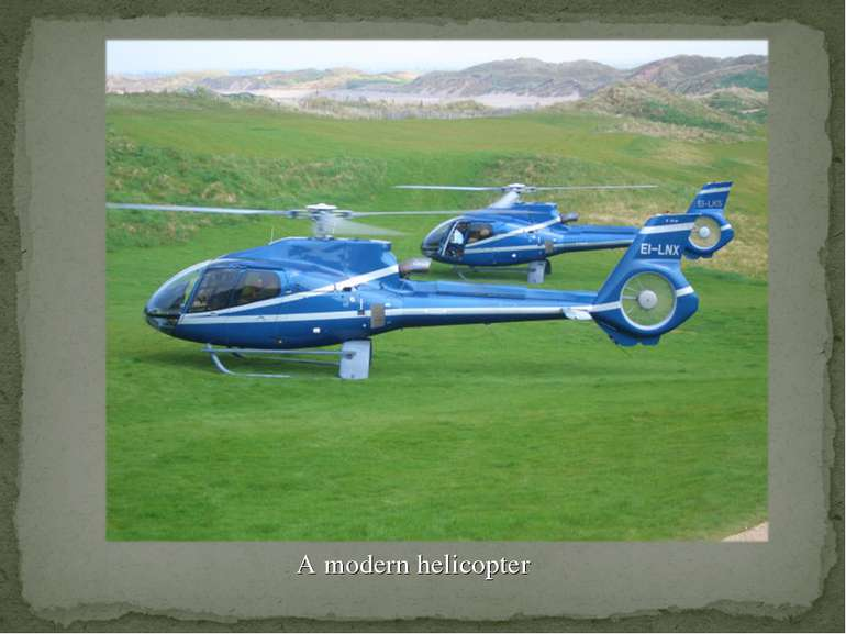 A modern helicopter