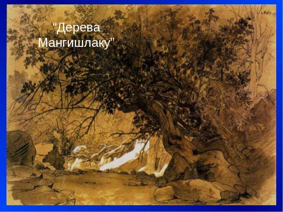"""""""Дерева Мангишлаку"""""""