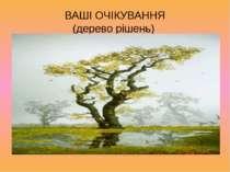 ВАШІ ОЧІКУВАННЯ (дерево рішень)