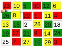 1 2 3 4 7 5 6 8 9 10 11 12 13 15 14 16 17 18 19 20 21 22 23 24 25 26 27 28 29 30