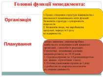 1.Процес створення структури підприємства і виконання її працівниками своїх ф...