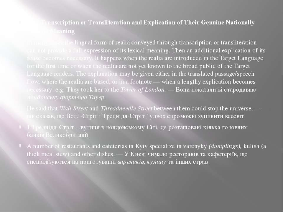 2 By Transcription or Transliteration and Explication of Their Genuine Nation...