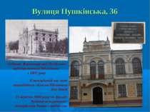 Вулиця Пушкінська, 36 Будинок Житомирської Російської публіцистичної бібліоте...