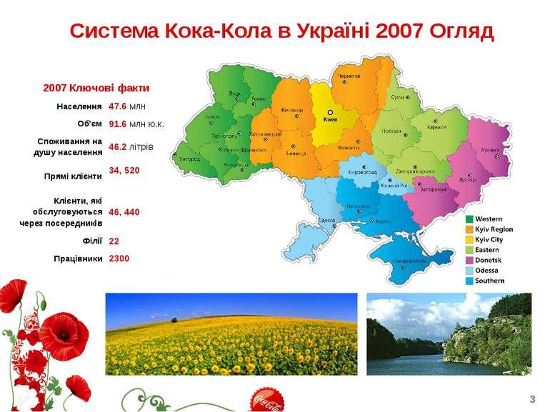Система Кока-Кола в Україні 2007 Огляд