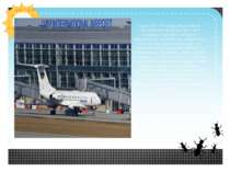 Аеропорт - багатофункціональне транспортне підприємство, яке є наземною части...