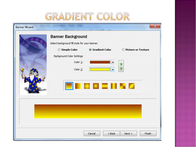 gradient color