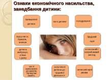 Ознаки економічного насильства, занедбання дитини: залишення дитини відсутніс...