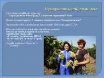 Суть інвестиційного проекту: Вирощування винограду. Створення сировинної бази...