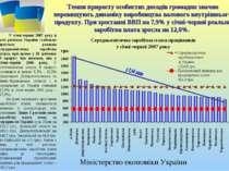 Темпи приросту особистих доходів громадян значно перевищують динаміку виробни...