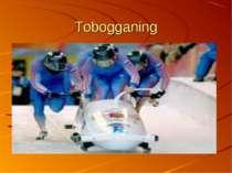 Tobogganing