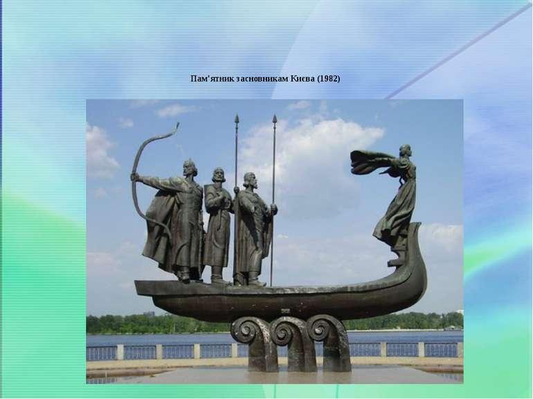 Пам'ятник засновникам Києва(1982)