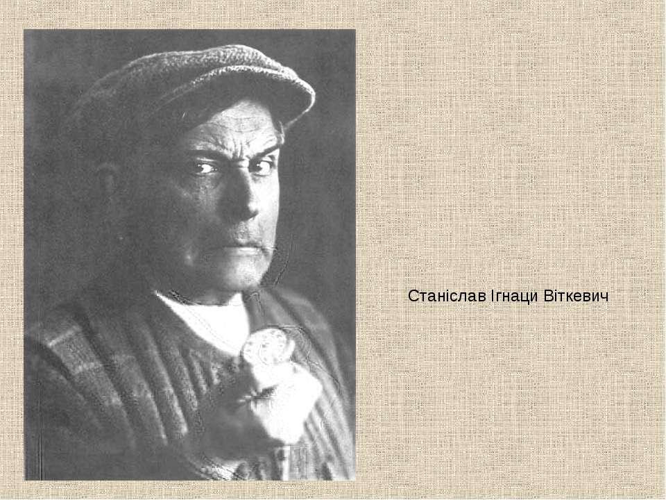 Станіслав Ігнаци Віткевич