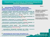 * Новації Кодексу, спрямовані на підвищення міжнародного рейтингу податкової ...