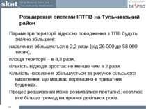 Розширення системи ІПТПВ на Тульчинський район Параметри території відносно п...