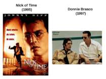 Nick of Time (1995) Donnie Brasco (1997)