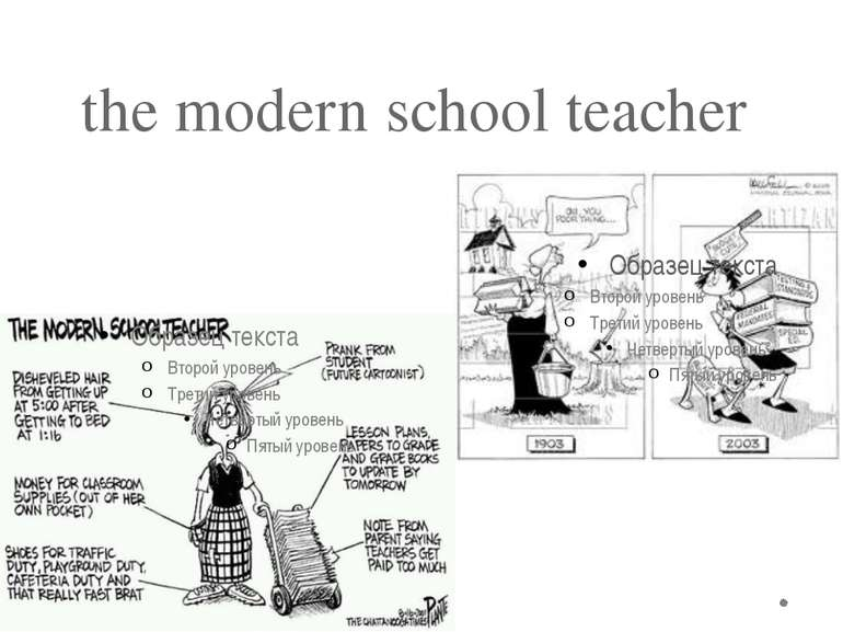 the modern school teacher