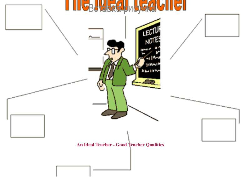 An Ideal Teacher - Good Teacher Qualities