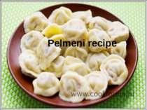 Pelmeni recipe