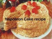Napoleon Cake recipe