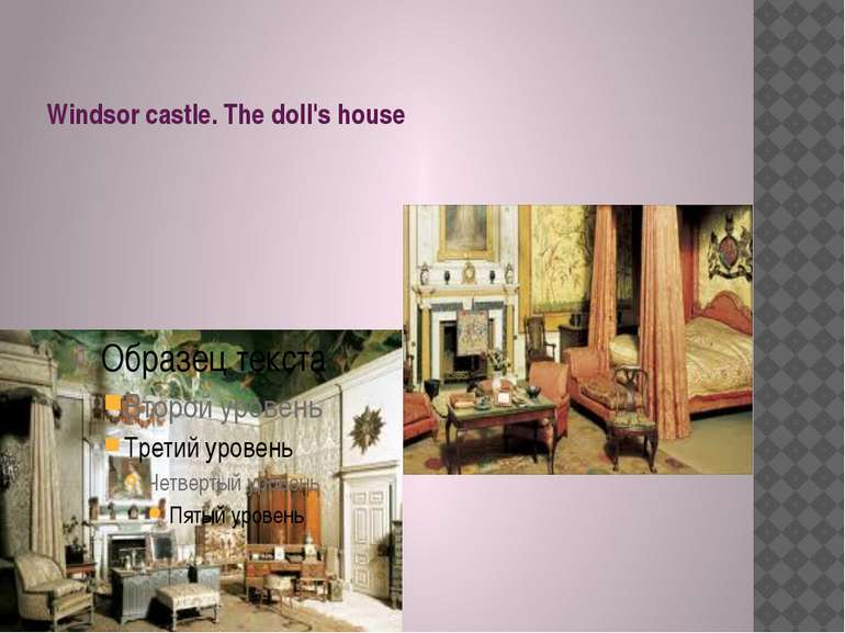 Windsor castle. The doll's house