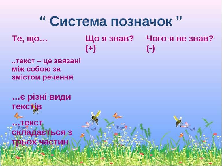 """"""" Система позначок """""""
