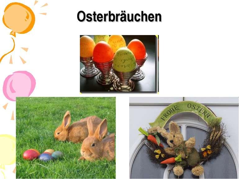 Osterbräuchen