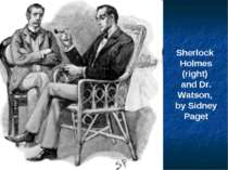 Sherlock Holmes (right) and Dr. Watson, by Sidney Paget