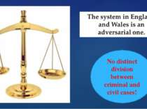 No distinct division between criminal and civil cases!