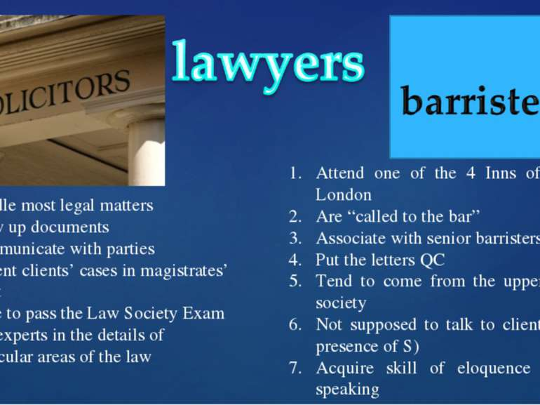 Handle most legal matters Draw up documents Communicate with parties Present ...